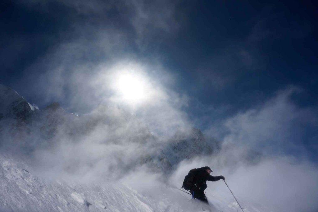 Ski dans les nuages