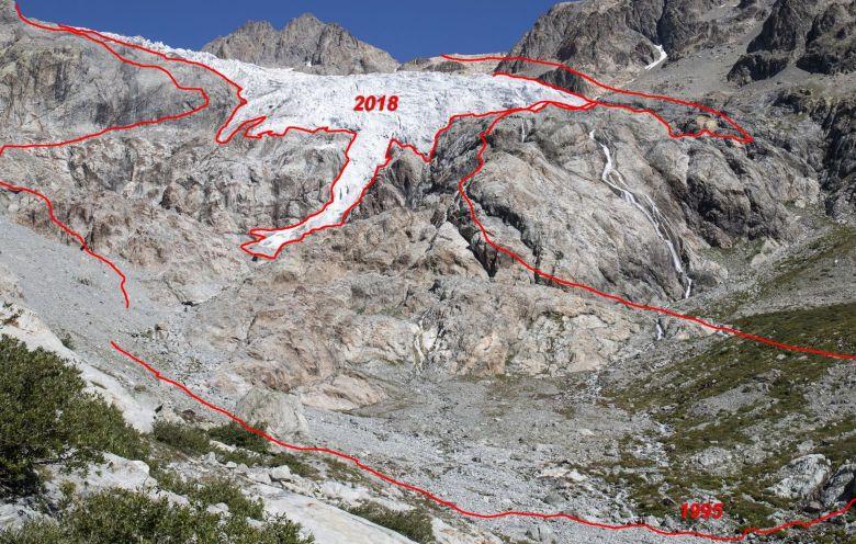 Fonte du Glacier Blanc